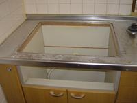 ガスコンロ・給湯の工事例2