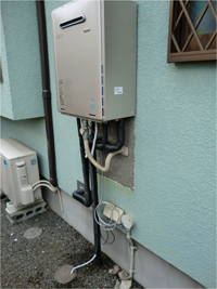 ガスコンロ・給湯の工事例4